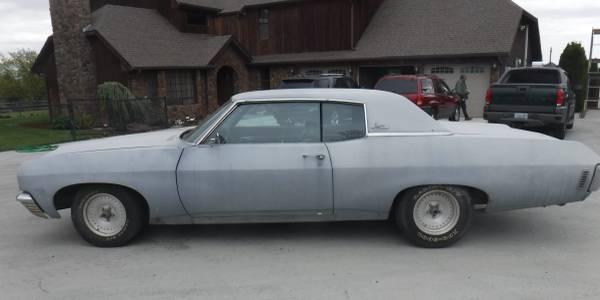 Photo 1970 Chevy Impala Project - $3000 (Yakima)