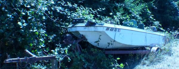 1972 Bass Boat FOR SALE $1,000. - $1,000 (BORING, SANDY AREA)