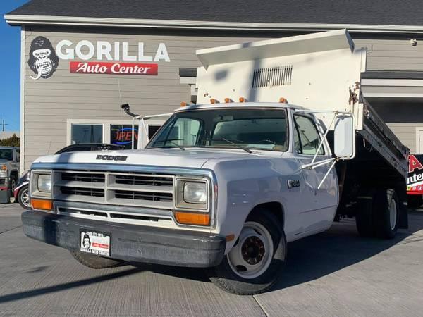 Photo 1987 Dodge D350 DUMP TRUCK RWD MANUAL TRANSMISSION - $9,995 (Yakima)