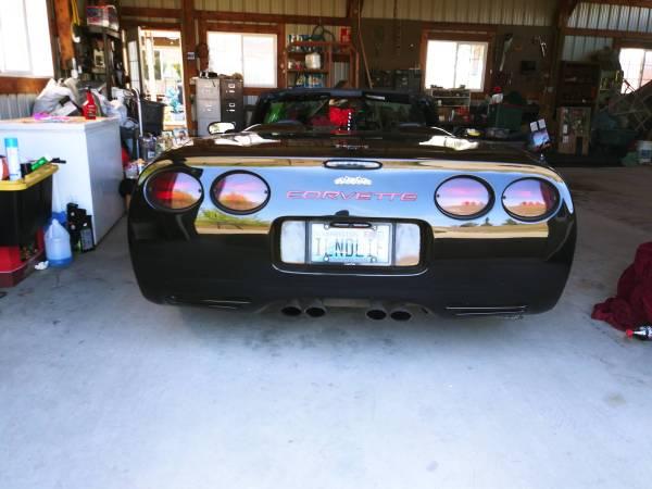Photo 1998 C5 Corvette Convertible - $16,500 (West Valley)
