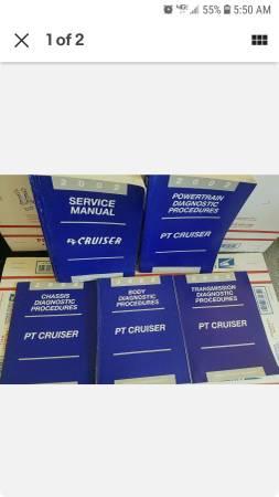 Photo 2002 chrysler factory service manuals - $20 (yakima)