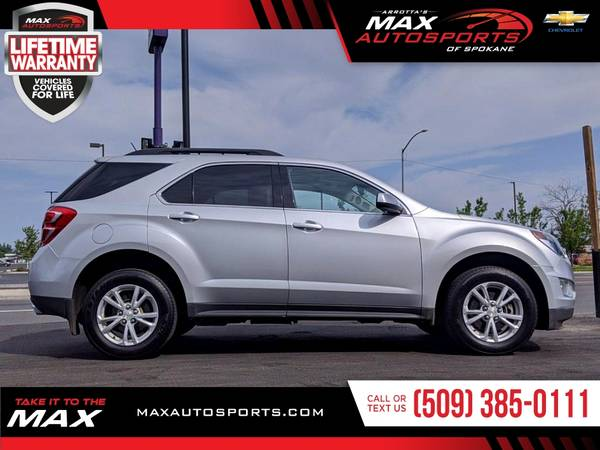 Photo 2017 Chevrolet Equinox LT SUV available for a test drive - $21,980 (Max Autosports of Spokane)