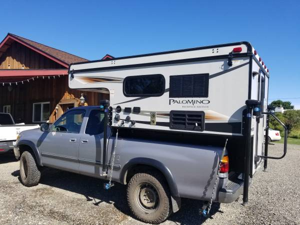 Photo 2017 PALOMINO BACKPACK, SS-600, POP UP CAMPER - $11,200 (Ellensburg)