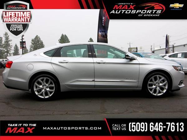 Photo 2019 Chevrolet Impala $378 mo LIFETIME WARRANTY - $27,999 (Max Autosports of Spokane)