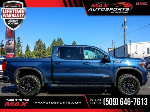 Photo 2019 GMC Sierra AT4 AT 4 AT-4 6.2L 6.2 L 6.2-L HD $752 - $55,530 (Max Autosports of Spokane)