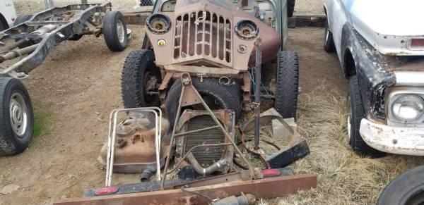 Photo 47-65 Willys truck ,wagon parts - $0 (Yakima union gap)
