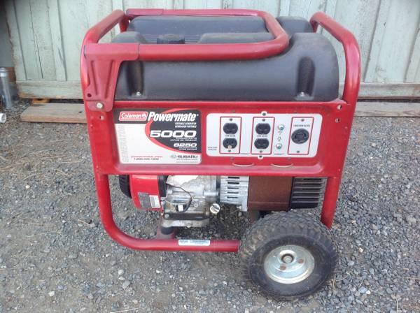 Photo Coleman Powermate Generator - $250 (Ellensburg)