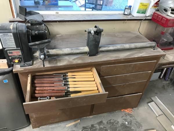 Photo Craftsman 12 lathe - $200 (Yakima)