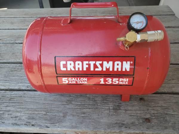 Photo Craftsman 5 Gallon Air Tank - $25 (Yakima)