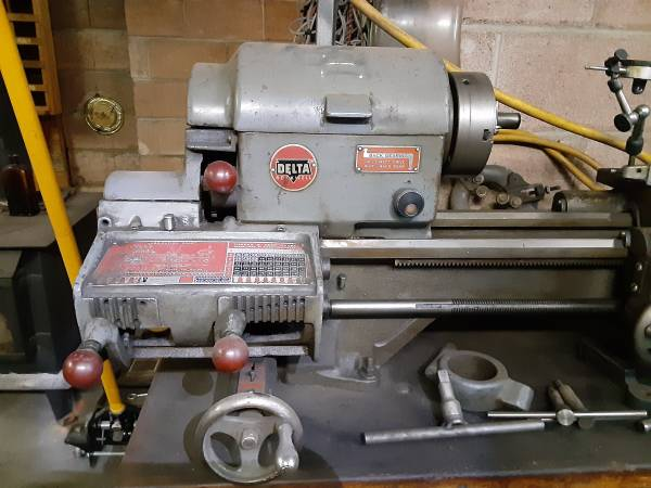 Photo Delta rockwell metal lathe - $2,500 (Tieton)