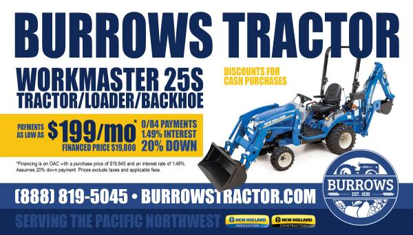 Photo New Holland Workmaster 25S 25hp 4WD tractor, loader, backhoe - $199 (Yakima)