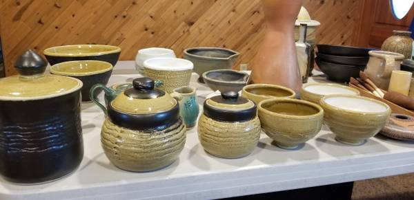 Photo Pottery- misc clay art and tools - $1 (Ellensburg)