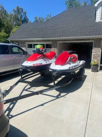 Photo Sea-doo Jet-ski and Kawasaki Jet-ski - $16,000 (West Valley)