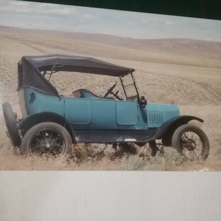 Photo Stolen Model T Ford - $1000 (Sunnyside, WA)