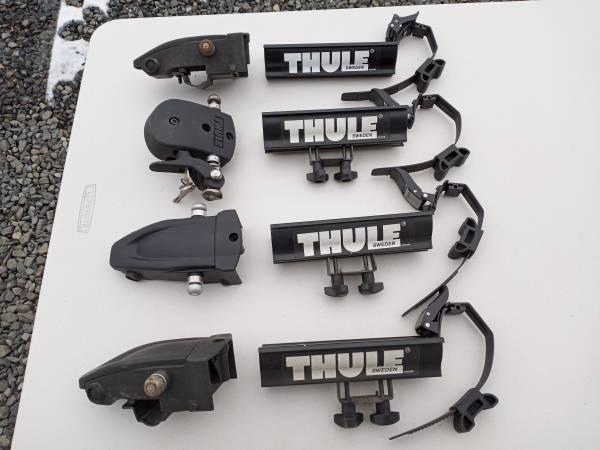 Photo Thule Bike Rack components - $200 (Selah)
