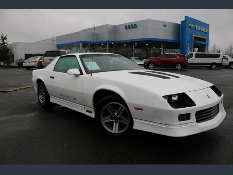 Photo Used 1987 Chevrolet Camaro Coupe for sale