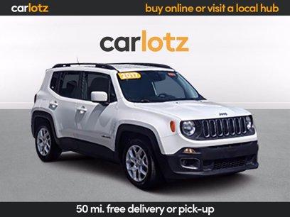Photo Used 2017 Jeep Renegade Latitude for sale