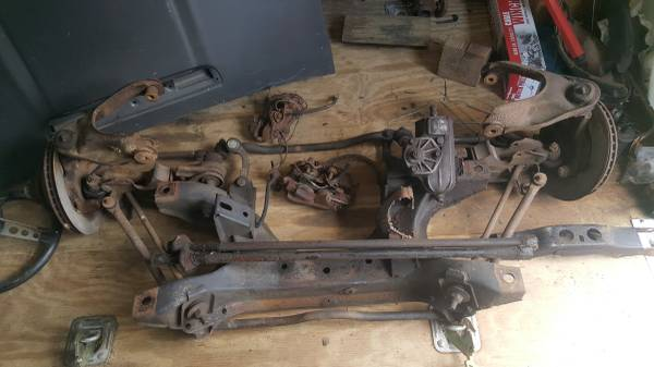 Photo 1971 Plymouth Duster complete 340 front suspension with disc brakes - $750 (York,Pa)