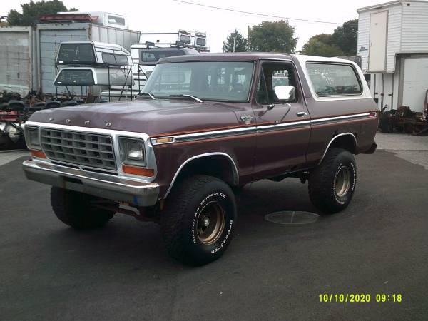Photo 1979 Ford Bronco - $5,900 (York , Pa)