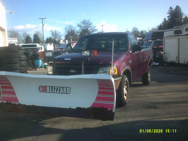 Photo 1998 Ford F 250 , with Blizzard plow - $3500 (York , Pa)