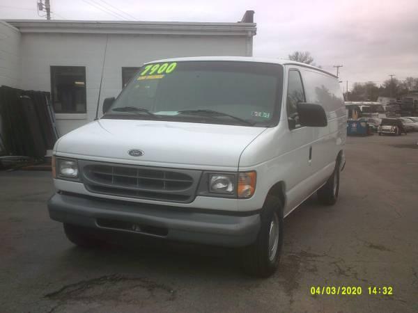 Photo 2002 Ford E 150 , cargo van - $7900 (York , Pa)