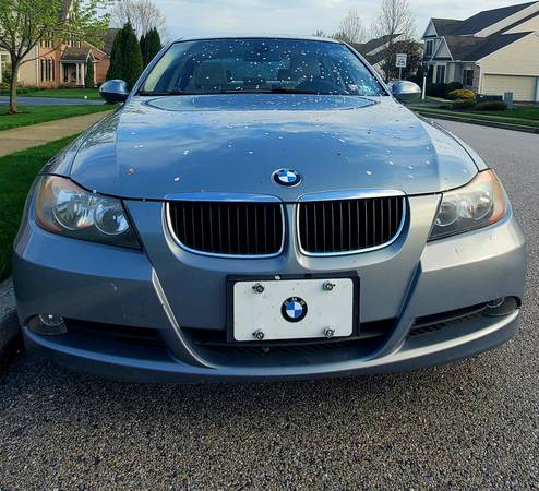 Photo 2006 BMW 325i with 6 speed Manual Shift in Arctic Blue (Insp 1220) - $3400