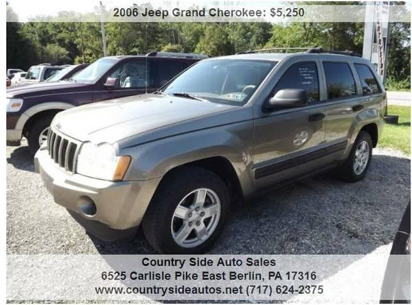 Photo 2006 Jeep Grand Cherokee Laredo 4dr SUV 4WD - $5250 (Countryside Auto Sales)