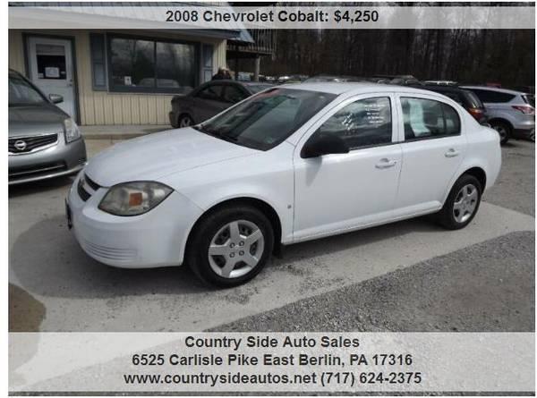 Photo 2008 Chevrolet Cobalt LS 4dr Sedan - $4250 (Countryside Auto Sales)