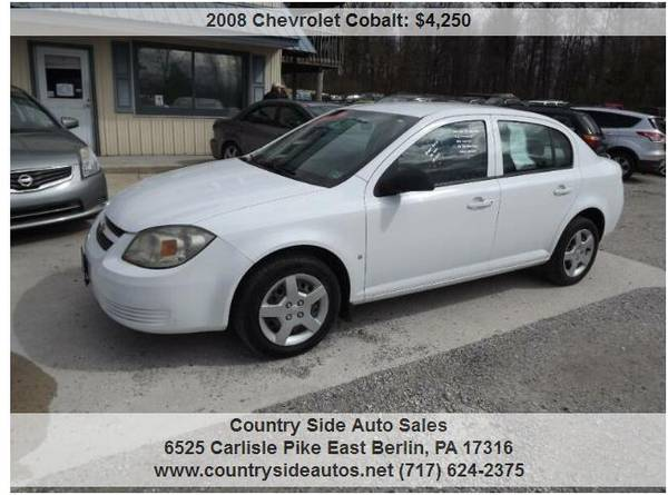 Photo 2008 Chevrolet Cobalt LS 4dr Sedan - $4,250 (Countryside Auto Sales)
