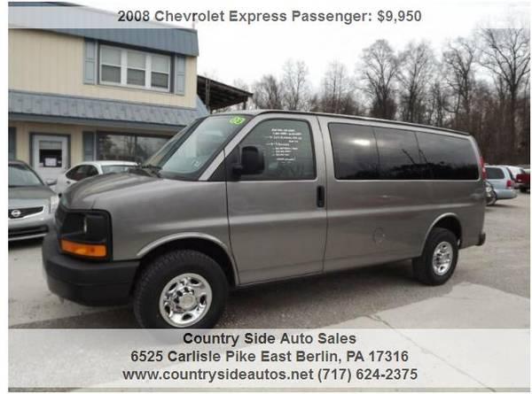 Photo 2008 Chevrolet Express Passenger LS 2500 3dr Passenger Van - $9950 (Countryside Auto Sales)