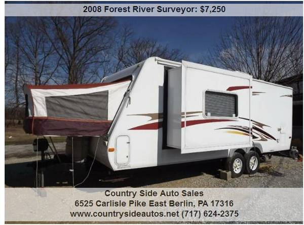 Photo 2008 Forest River Surveyor - $7250 (Countryside Auto Sales)
