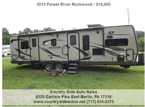 Photo 2013 Forest River Rockwood Signature Ultra Lite 8315BSS - $16,900 (Countryside Auto Sales)