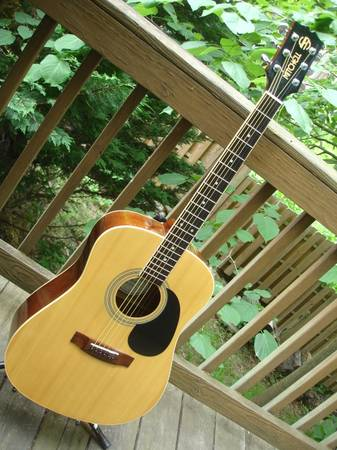 Photo Acoustic Mitchell MD 100 Guitar - $140 (c hill)