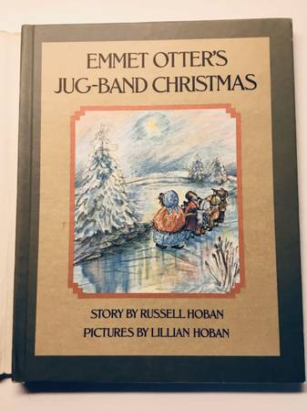 Photo Emmet Otters Jug Band Christmas - With Dust Jacket - 1st Edition 1971 - $10