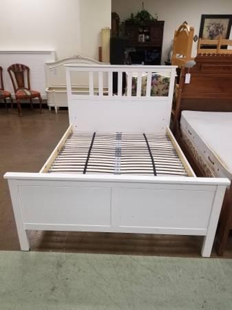 Photo Ikea Hemnes Full Size Bed Frame - $185 (Lancaster, PA)