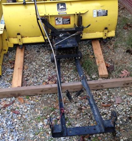 Photo John Deere 3481M Front SnowDirt Blade - $575 (Spring Grove)