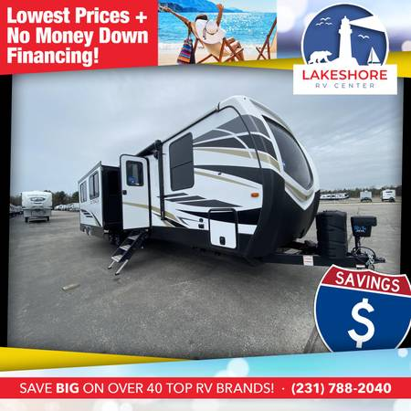 Photo Outback 340BH Travel Trailer RV - CALL 231-638-7750 FOR SALE PRICING - $53,117