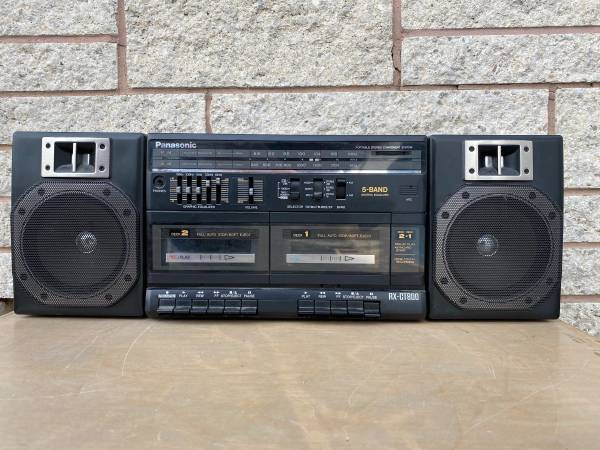 Photo Panasonic AMFM Receiver with dual Cassettes - $10 (York Pa)
