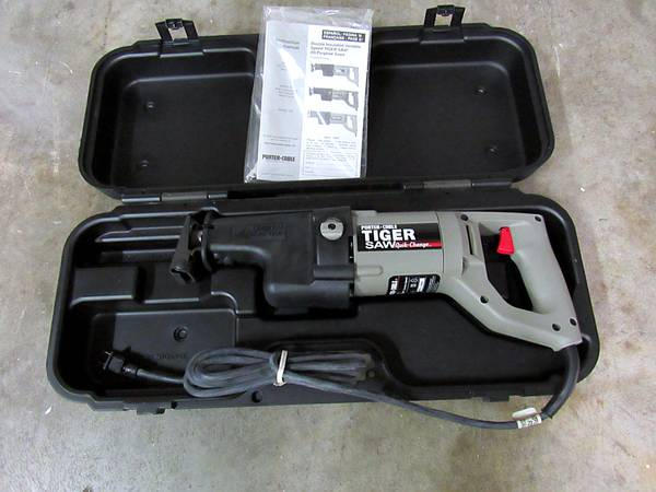 Photo Porter Cable Heavy Duty Tiger Saw model 737 Made in USA - $75 (Littlestown PA)