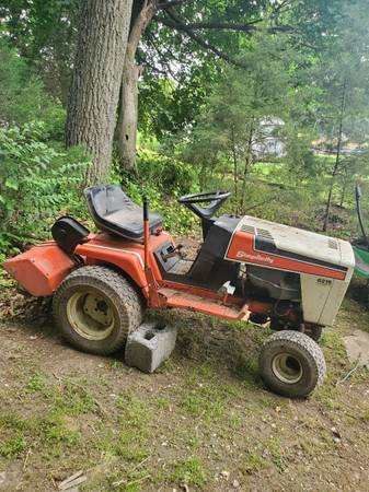 Photo Simplicity tractor and rototiller - $325 (Spring Grove)