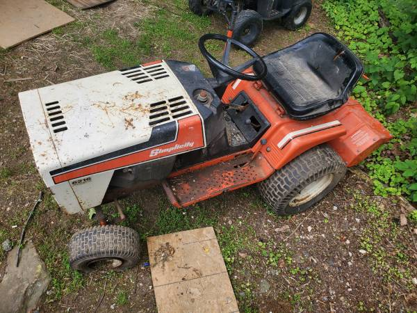 Photo Simplicity tractor and rototiller - $500 (Spring Grove)