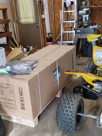 Photo Trade for atv work 72 inch green harborfreight top box - $650 (New Freedom)