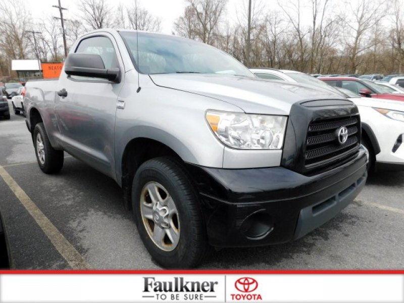Photo Used 2007 Toyota Tundra 4x4 Regular Cab for sale