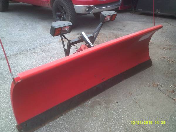 Photo Used Western plow fits 99-04 Ford F-250 - $2,195 (York , Pa)