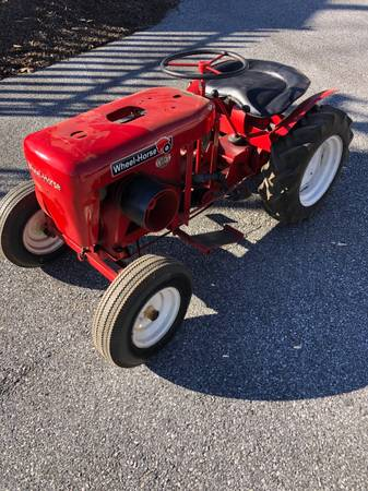 Photo Wheel Horse tractor powered by an International LA engine - $1,450 (Lineboro,MD)