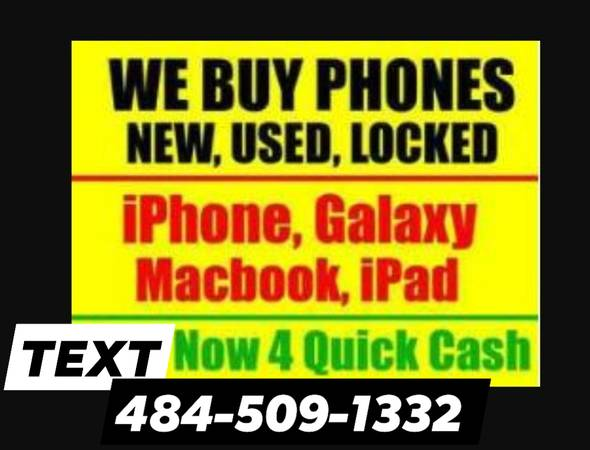 Photo $$$ WE PAY SAME DAY CASH 4 iPHONE, iPAD, iWATCH  MACBOOKS - $600