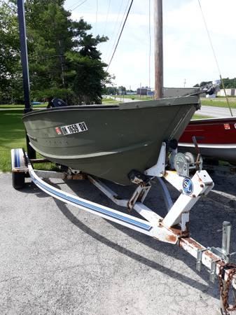 17 foot open fishing/hunting boat - $2100 (marblehead ohio ...