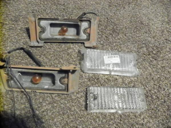 Photo 1969 1970 chevy truck parking lights - $45 (north jackson)