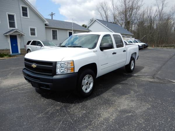 Photo 2010 CHEVROLET SILVERADO 1500 HYBRID CREW CAB 2WD TRUCK - $12990 (NORTH JACKSON OH)