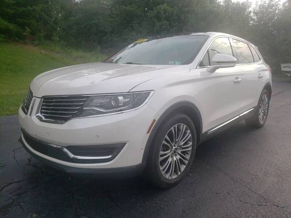 Photo 2016 LINCOLN MKX AWD RESERVE PEARL WHITE BEAUTIFUL 0 ACCIDENTS LOADED - $24,100 (AUSTINTOWN)